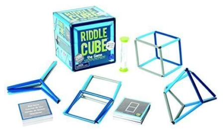 This is an image of kid's Educational riddlecube game