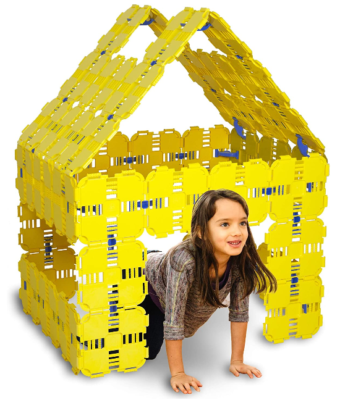 This is an image of boy's Boards fort building kit