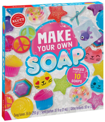 This is an image of girl's soap craft kit