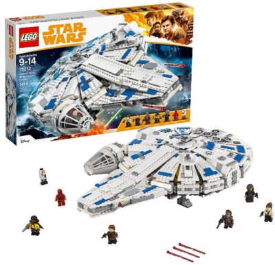 This is an image of kid's LEGO star wars solo building set
