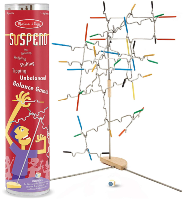 This is an image of kid's suspend family game by melissa and doug