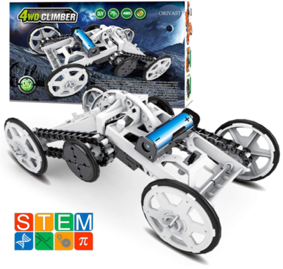 This is an image of kid's Science kits STEm in silver color