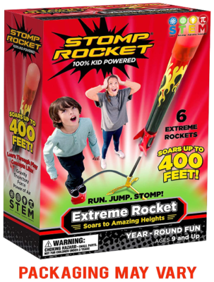 This is an image of girl's stomp rocket extreme 6 packs