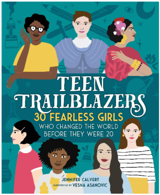 This is an image of girl's teen trailblazers book