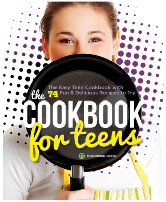 This is an image of girl's cookbook for teens