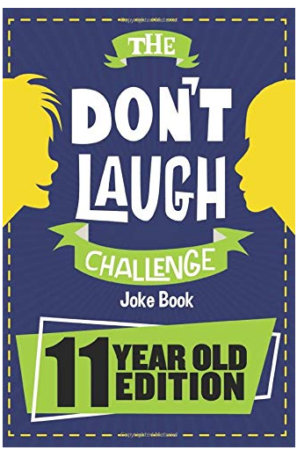 This is an image of kid's dont laugh Challenge book
