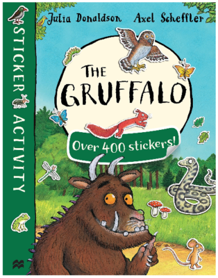 This is an image of kid's The gruffalo sticker book