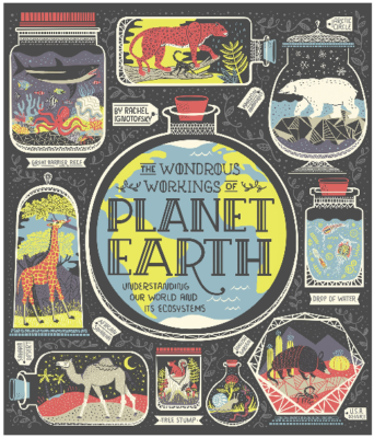 This is an image of girl's planet eart ecosystems book