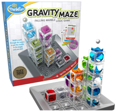 This is an image of kid's Gravity maze marble run brain STEM toy