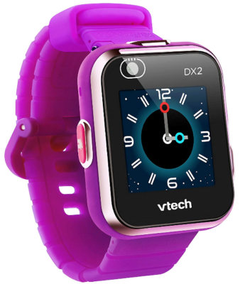 This is an image of kid's kidizoom smartwatch in purple color