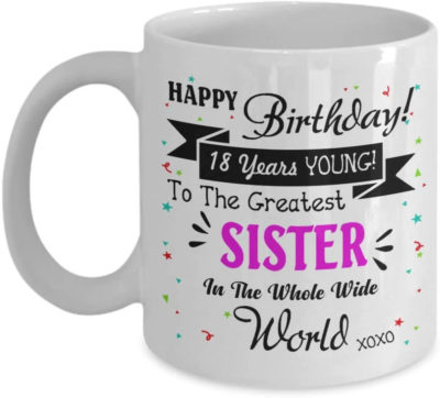 This is an image of Coffee Mug for Your Sister