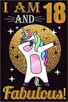 This is an image of Dabbing Unicorn Notebook