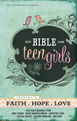 This is an image of NIV Teen Girls' Bible