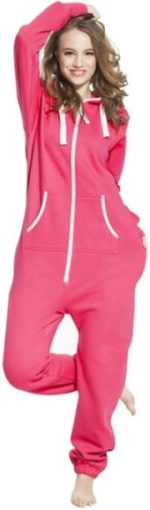 This is an image of Hoodie Jumpsuit for Women