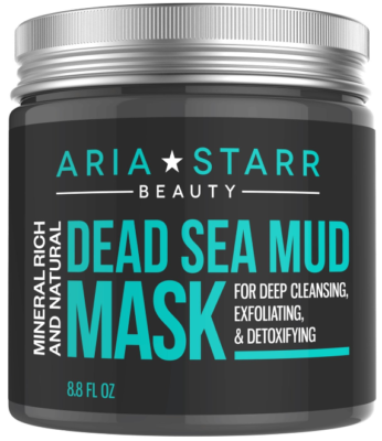 This is an image of girl's dead sea mud mask by Aria Starr