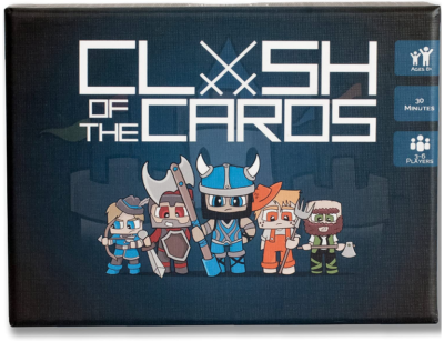 This is an image of clash of the cards game