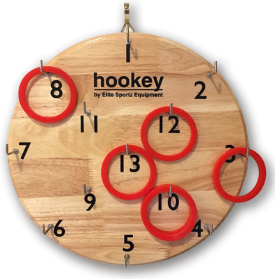 This is an image of boy's hookey gifts simply hang and play