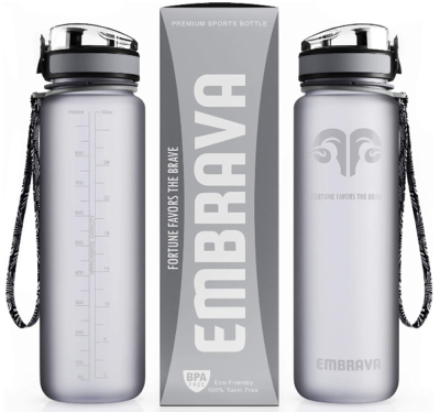 This is an iamge of boy's Sport water bottle pack by Embrava