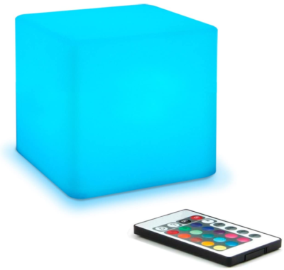 This is an image of boy's LED night lamp with remote control