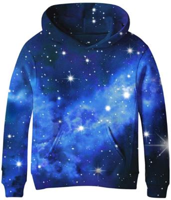 This is an image of boy's Galaxy sweatshirts hoddie