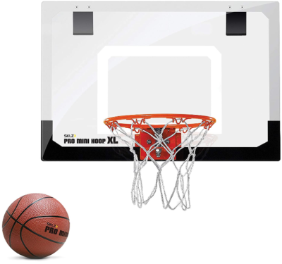 This is an image of boyt's mini basketball hoop set