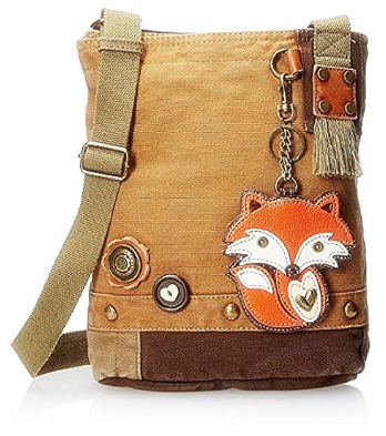 This is an image of girl's Cross body bags with coin purse and zipper